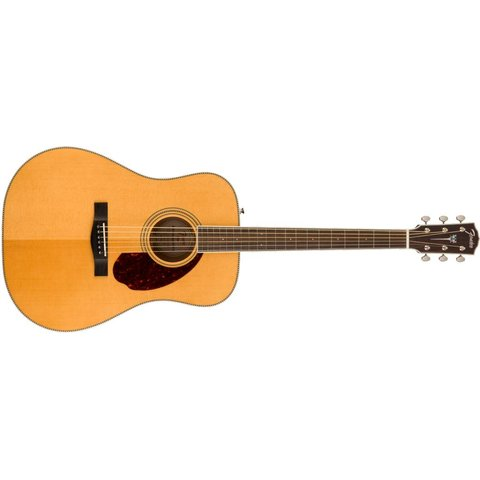 Fender PM-1E Standard Dreadnought, Ovangkol Fingerboard, Natural w/case