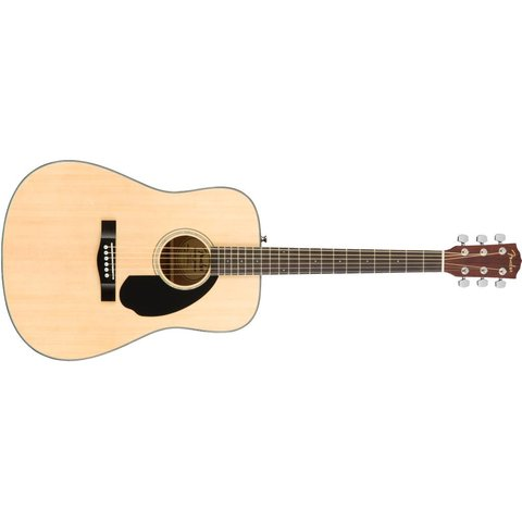 Fender CD-60S Dreadnought, Walnut Fingerboard, Natural