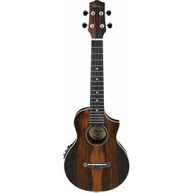 Ibanez Ibanez UEW13MEEDBO Ukulele Series - Dark Brown Open Pore
