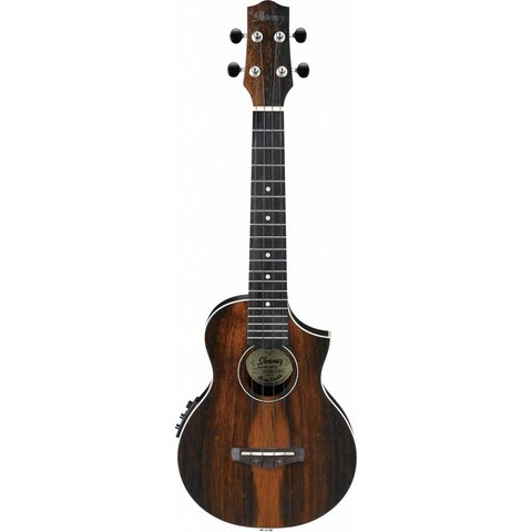 Ibanez UEW13MEEDBO Ukulele Series - Dark Brown Open Pore