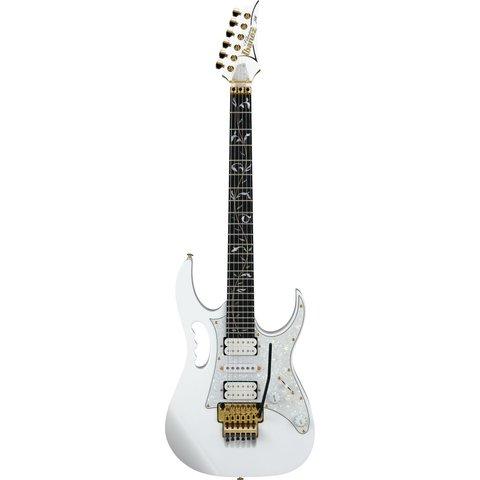Ibanez JEM7VPWH Steve Vai Signature 6str Electric Guitar w/Bag - White