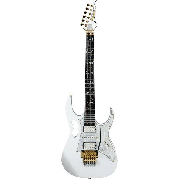 Ibanez Ibanez JEM7VPWH Steve Vai Signature 6str Electric Guitar w/Bag - White