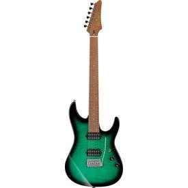 Ibanez Ibanez MSM100FGB Marco Sfogli Signature 6str Electric Guitar w/Case - Fabula Green Burst
