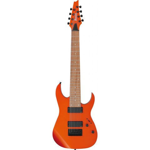 Ibanez RG80EROM RG Standard 8str Electric Guitar - Roadster Orange Metallic