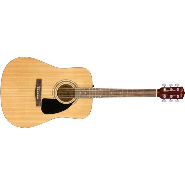 Fender Fender FA-115 Dreadnought Pack, Natural, Walnut Fingerboard