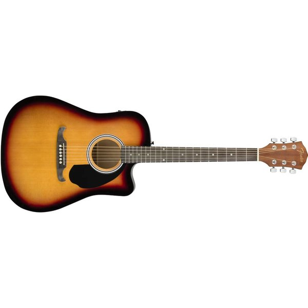 Fender Fender FA-125CE Dreadnought, Sunburst