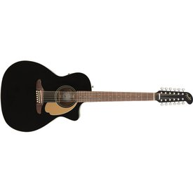 Fender Fender Villager 12-String, Walnut Fingerboard, Black V3