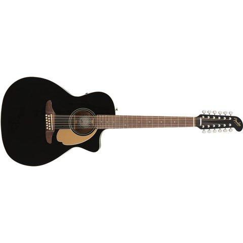Fender Villager 12-String, Walnut Fingerboard, Black V3