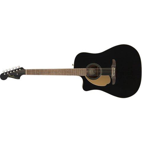 Fender Redondo Player LH, Walnut Fingerboard, Jetty Black