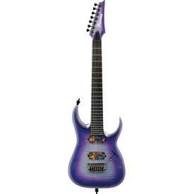 Ibanez Ibanez RGA71ALIAF RGA Axion Label 7str Electric Guitar - Indigo Aurora Burst Flat