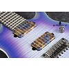 Ibanez RGA71ALIAF RGA Axion Label 7str Electric Guitar - Indigo Aurora Burst Flat