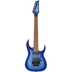 Ibanez Ibanez RGA7420FMBLF RGA Standard 7str Electric Guitar - Blue Lagoon Burst Flat
