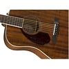 Fender PM-1 Dreadnought LH, Ovangkol Fingerboard, All-Mahogany w/case