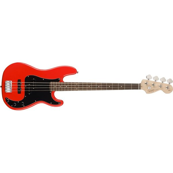 Squier Fender Affinity Series Precision Bass PJ, Laurel Fingerboard, Race Red