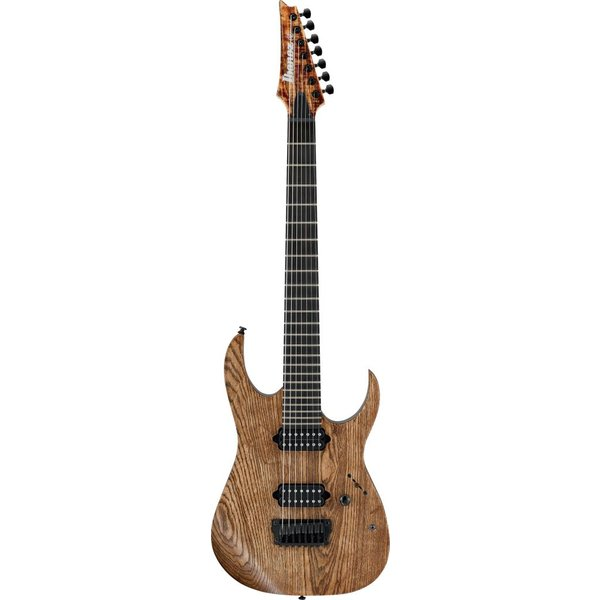 """Ibanez Ibanez RGIXL7ABL RG Iron Label 7str Electric Guitar (27"""" scale) - Antique Brown Stained Low Gloss"""