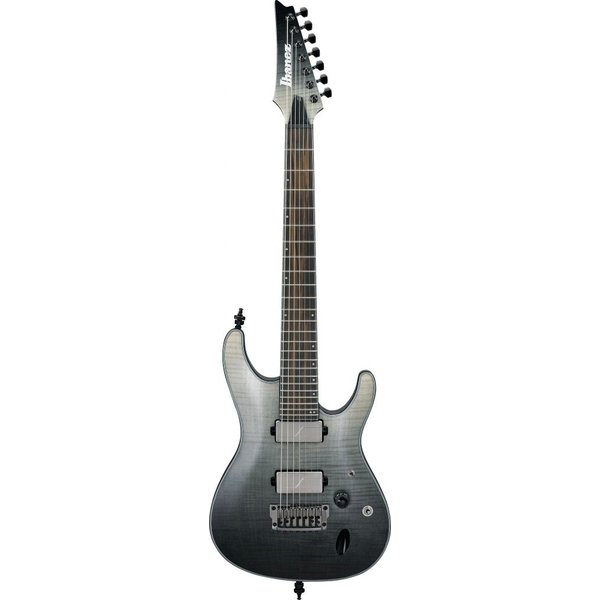 Ibanez Ibanez S71ALBML S Axion Label 7str Electric Guitar - Black Mirage Gradation Low Gloss