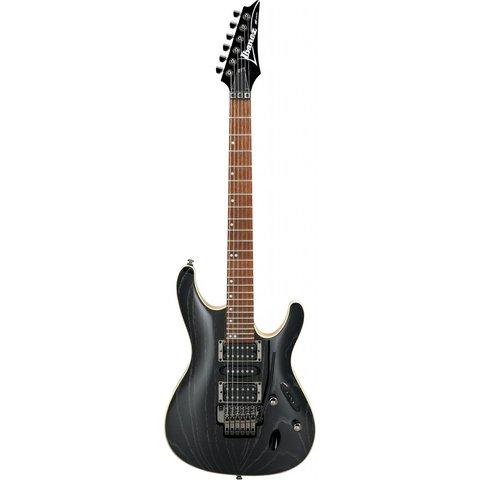 Ibanez S570AHSWK S Standard 6str Electric Guitar  - Silver Wave Black