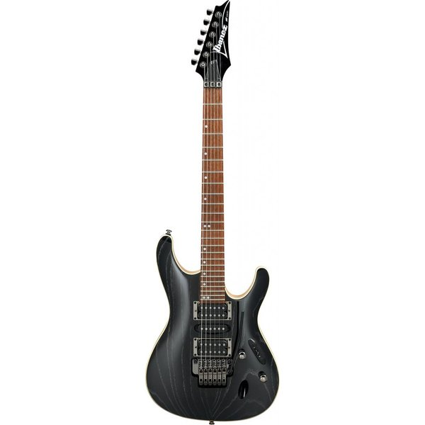 Ibanez Ibanez S570AHSWK S Standard 6str Electric Guitar  - Silver Wave Black