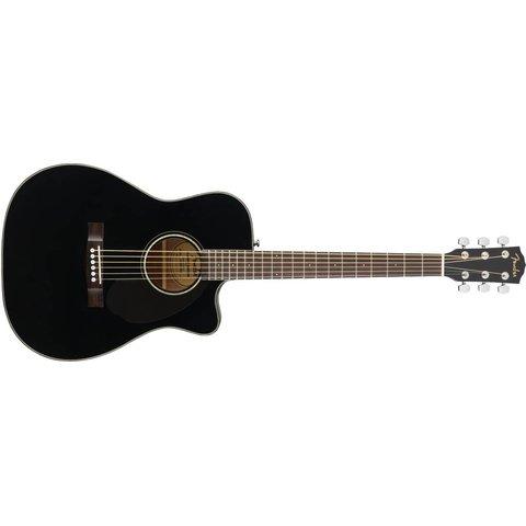 Fender CC-60SCE Concert, Walnut Fingerboard, Black