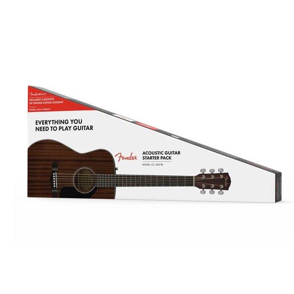 Fender Fender CC-60S Concert Pack V2, All-Mahogany