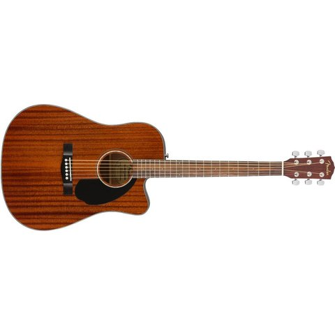 Fender CD-60SCE Dreadnought, Walnut Fingerboard, All-Mahogany