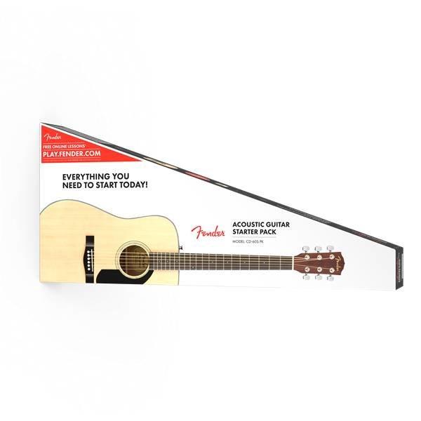 Fender Fender CD-60S Dreadnought Pack, Natural