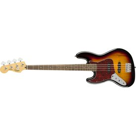 Squier Fender Vintage Modified Jazz Bass Left-Handed, Laurel Fingerboard, 3-Color Sunburst