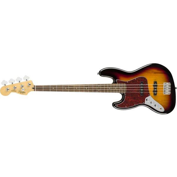 Squier Fender Vintage Modified Jazz Bass Left-Handed, Laurel Fingerboard, 3-Color Sunburst
