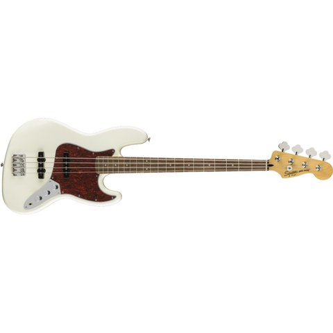 Fender Vintage Modified Jazz Bass, Laurel Fingerboard, Olympic White