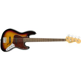 Squier Fender Vintage Modified Jazz Bass, Laurel Fingerboard, 3-Color Sunburst