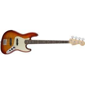 Fender Fender 2017 Limited Edition American Professional Jazz Bass FMT, Aged Cherry Burst