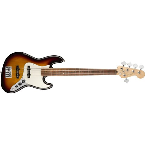 Fender Player Jazz Bass V, Pau Ferro Fingerboard, 3-Color Sunburst