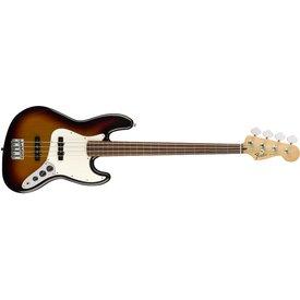 Fender Fender Standard Jazz Bass Fretless, Pau Ferro Fingerboard, Brown Sunburst