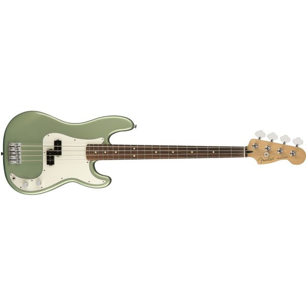 Fender Fender Player Precision Bass, Pau Ferro Fingerboard, Sage Green Metallic