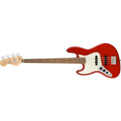 Fender Player Jazz Bass Left-Handed, Pau Ferro Fingerboard, Sonic Red