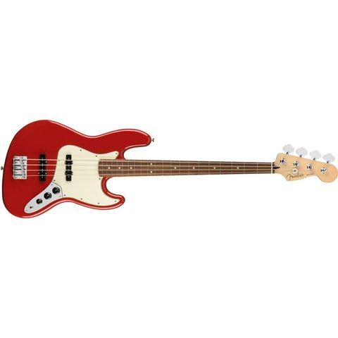 Fender Player Jazz Bass, Pau Ferro Fingerboard, Sonic Red