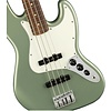 Fender Player Jazz Bass, Pau Ferro Fingerboard, Sage Green Metallic