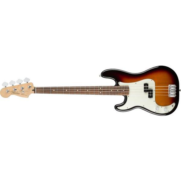 Fender Fender Player Precision Bass Left-Handed, Pau Ferro Fingerboard, 3-Color Sunburst