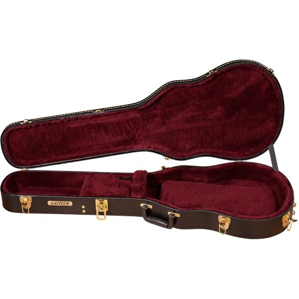 Gretsch Guitars Gretsch G6238 Deluxe Solid Body Hardshell Case, Black