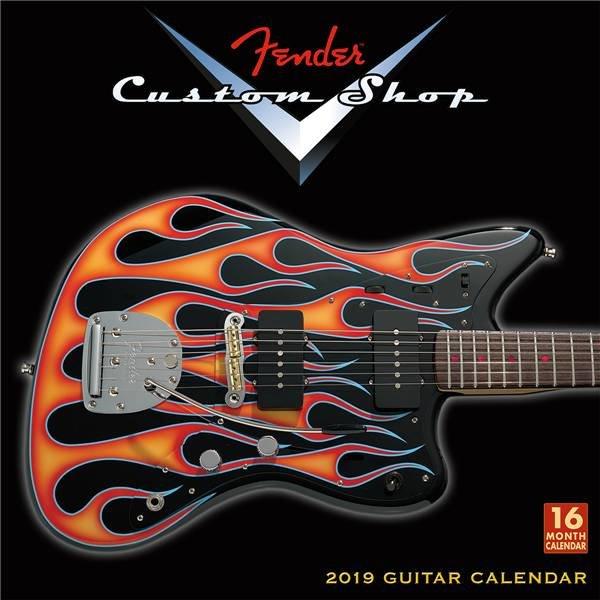 Fender Fender 2019 Fender Custom Shop Wall Calendar