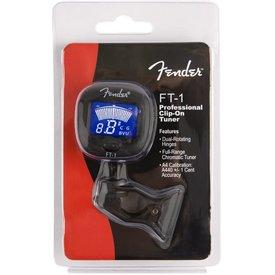 Fender Fender FT-1 Pro Clip-On Tuner, Black