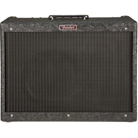 Fender Limited Blues Deluxe Reissue, Black Western, 120V