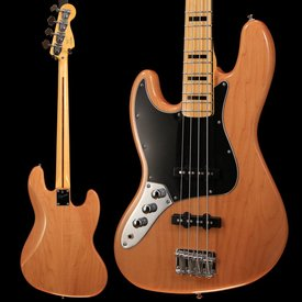 Squier Vintage Modified Jazz Bass '70s, Left-Handed, Maple Fingerboard, Natural - Used