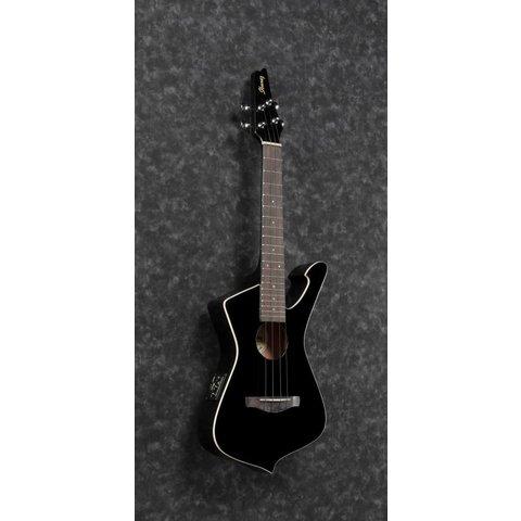 Ibanez UICT10BK Ukulele Series - Black Gloss