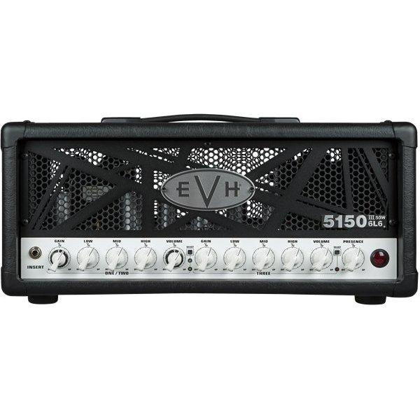 EVH EVH 5150III 50W 6L6 Head, Black, 220V ROK
