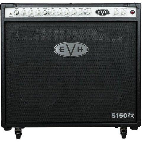 EVH 5150III 2x12 50W 6L6 Combo, Black, 230V EUR