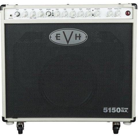 EVH 5150III 1x12 50W 6L6 Combo, Ivory, 110V TW