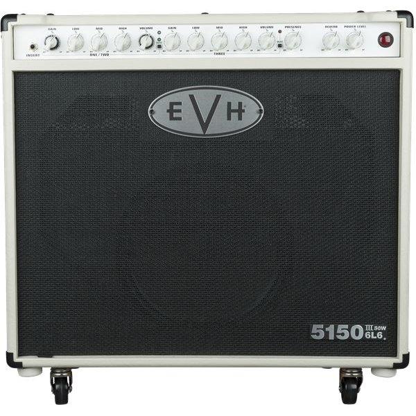 EVH EVH 5150III 1x12 50W 6L6 Combo, Ivory, 110V TW