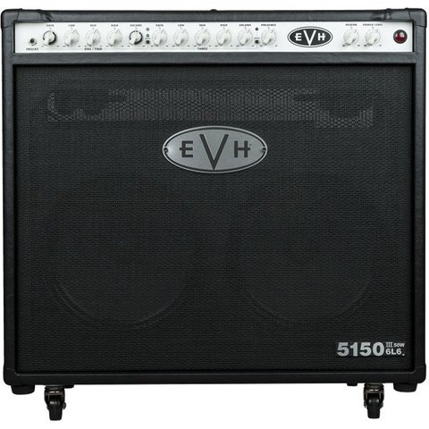 EVH 5150III 2x12 50W 6L6 Combo, Black, 220V ROK