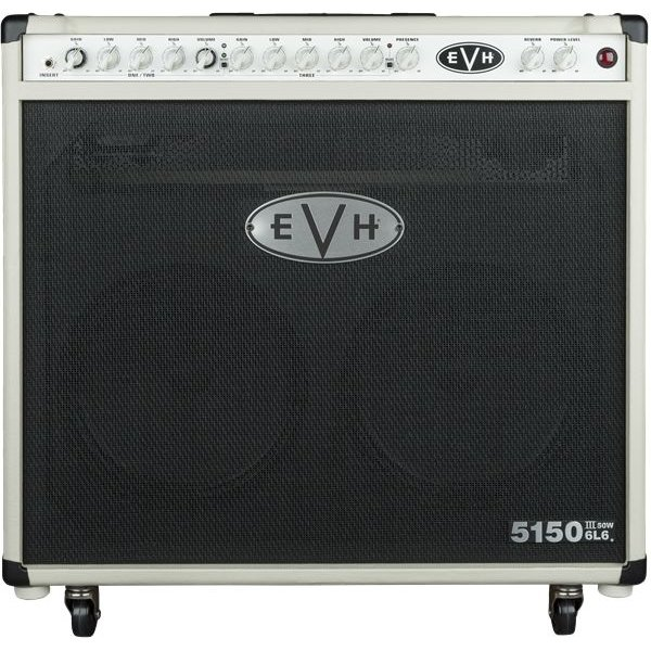 EVH EVH 5150III 2x12 50W 6L6 Combo, Ivory, 220V ARG